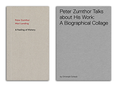 Peter Zumthor in Conversation